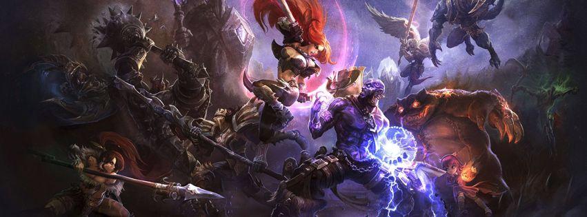League of Legends Facebook Cover - Facebook Cover Download