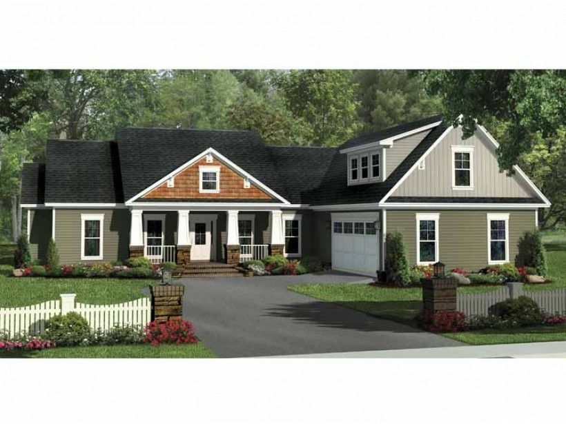 Craftsman House Plan With 2140 Square Feet And 4 Bedrooms From Dream Home  Source | House
