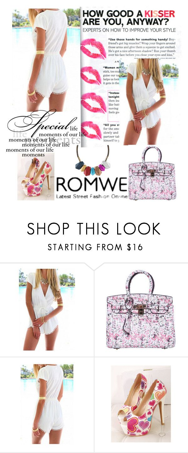 """""""ROMWE5"""" by unkic-edina ❤ liked on Polyvore featuring women's clothing, women, female, woman, misses, juniors and romwe"""