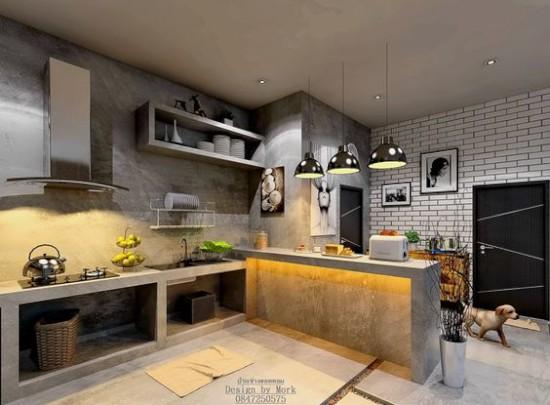 Gambar Meja Dapur