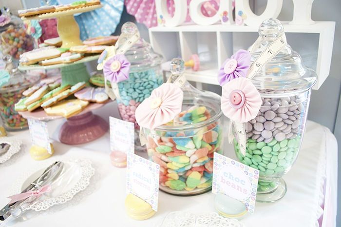 Awesome Cute As A Button Baby Shower With SUCH CUTE IDEAS Via Karau0027s Party Ideas    KarasPartyIdeas.com #girlbabyshower #cuteasabuttonparty #partyide.