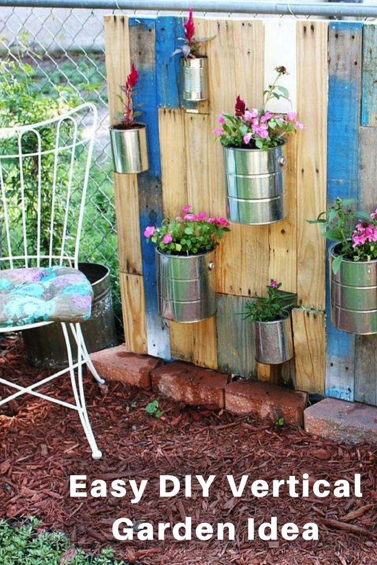 Vertical Gardening Container Ideas