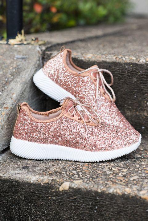 Sparkling Personalities Sneakers, Rose
