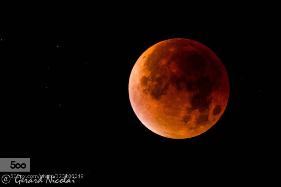 bloodmoon by gerardnicolai #nature