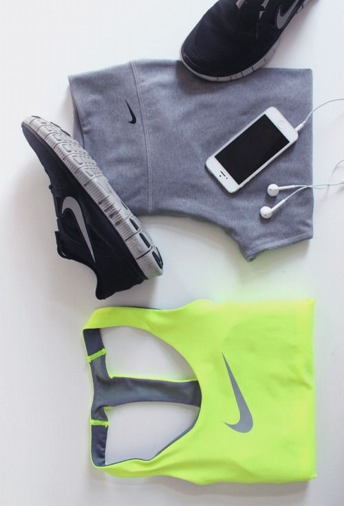 Workout Outfit Inspiration. I have the pants & shoes, need to find myself the tank now! - @keltieelizabeth