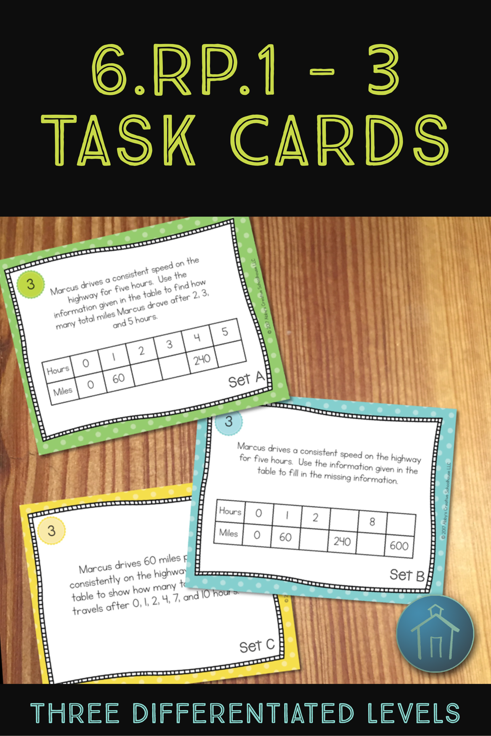 Rate And Ratio Task Cards 6 Rp 1 6 Rp 2 6 Rp 3