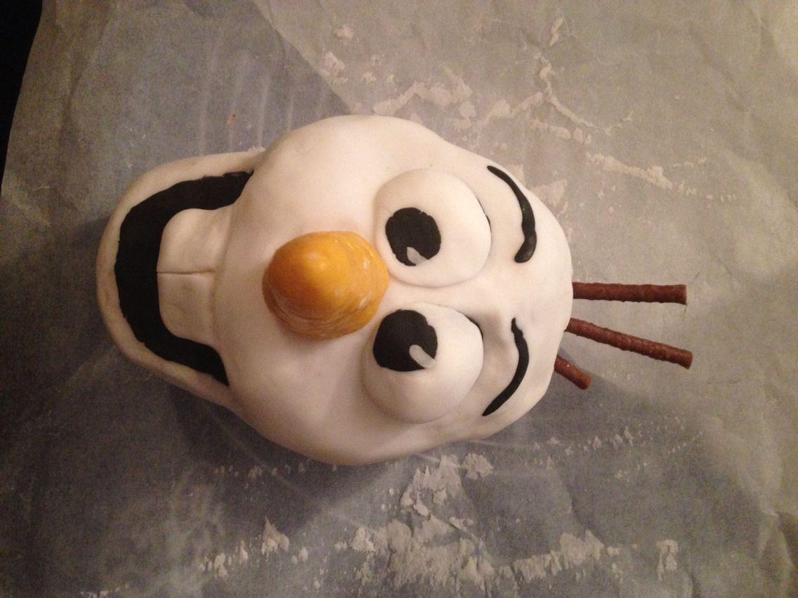 Olaf Rice Krispie treat and iced head | Rice krispies ...