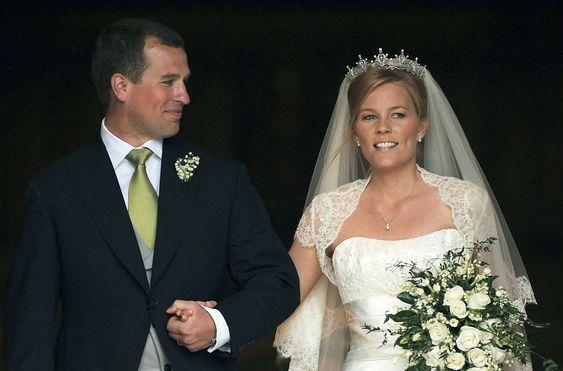 Autumn Kelly Wedding tiara: Autumn married Peter Phillips ...