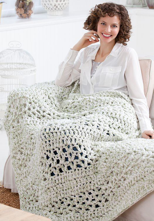 Ravelry: Super Quick Throw pattern by Marilyn Coleman (crocheted 4 ...