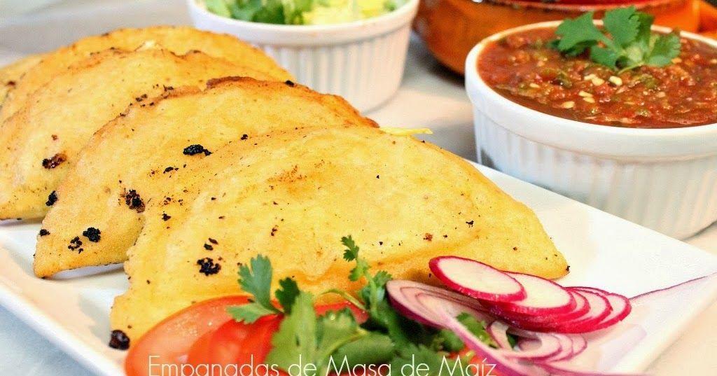 How To Make Empanadas With Corn Dough Recipe Food Recipes