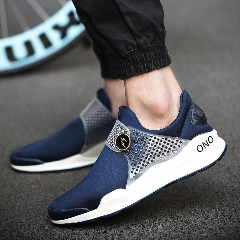 New Korean mens outdoor sports shoes canvas shoes casual shoes breathable