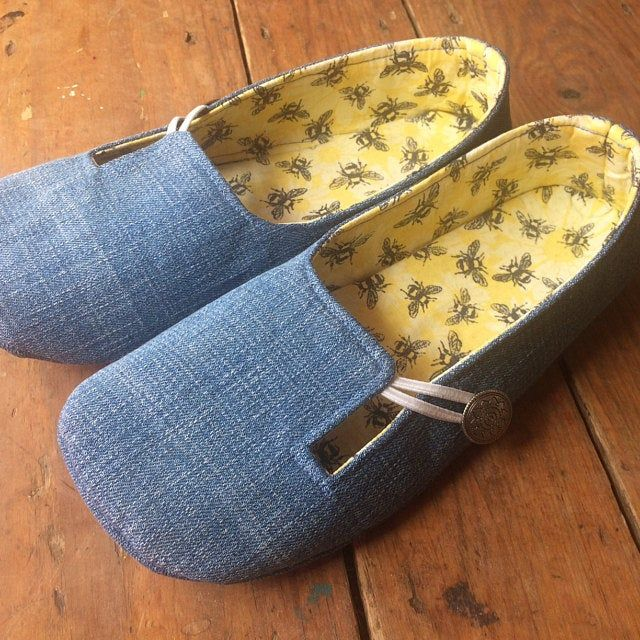 Photo of PDF Sewing Pattern Everyday Loafer Soft Soled Outdoor Shoes – Ballet Flats Vegan Ecofriendly INSTANT DOWNLOAD Sizes 5-11
