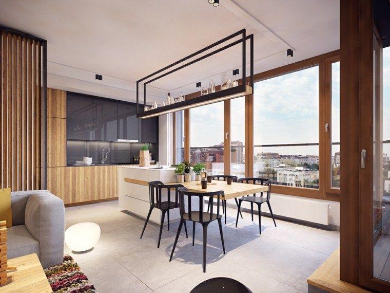 Modernes Küchenmodell 2016 - 48 inspirierende Ideen Küchen 2018 - wohnzimmer braun ideen