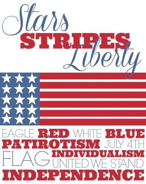 Free Fourth of July Printable from www.thisgalcooks.com #printable