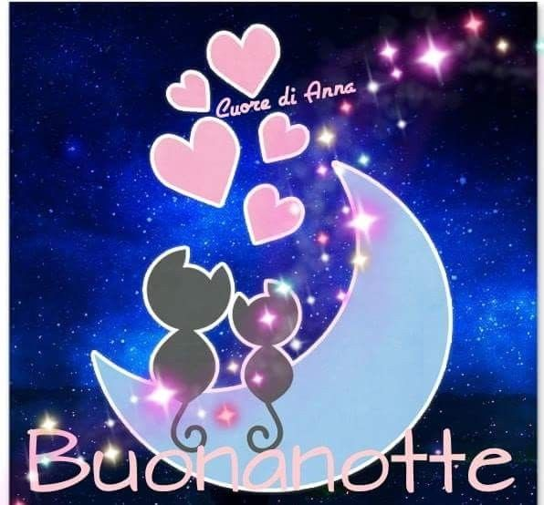 Buonanotte Buonanotte Buona Serata Pinterest Good Night E