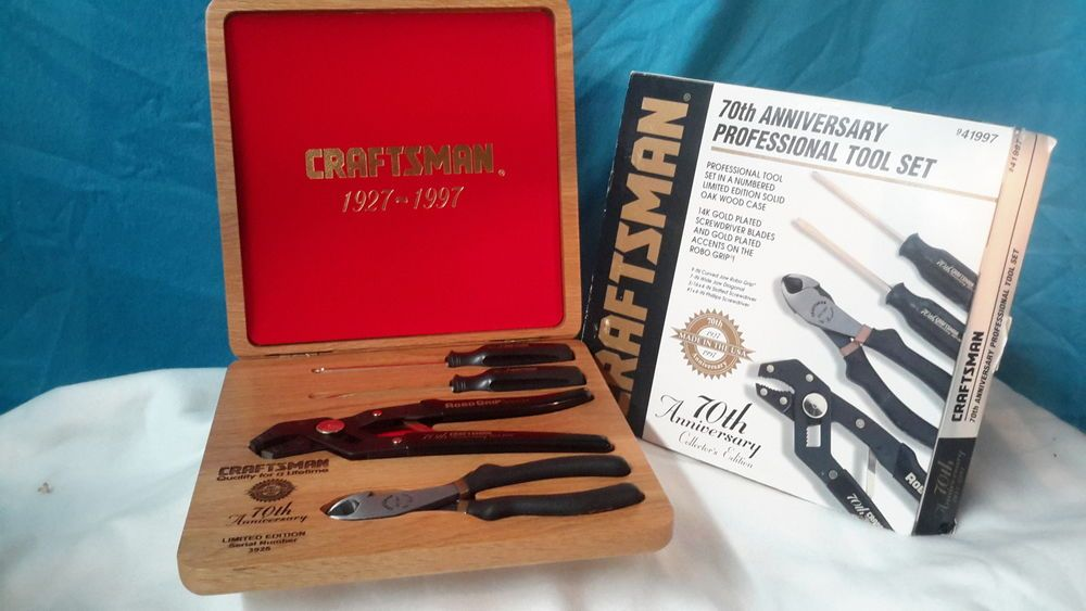 Craftsman 70th anniversary professional tool kit new