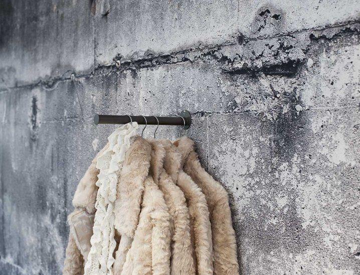 Gloss White Concrete Wallpaper Concrete Wall Concrete