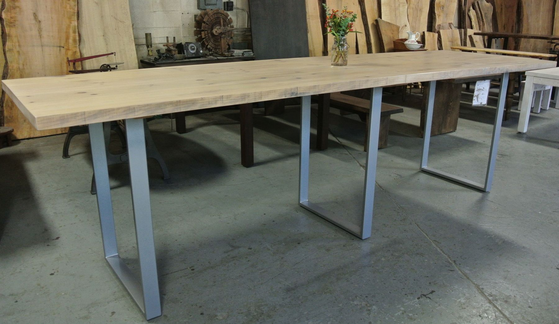 Standing Height Conference Table Custom Made And Custom Color - Tall meeting table
