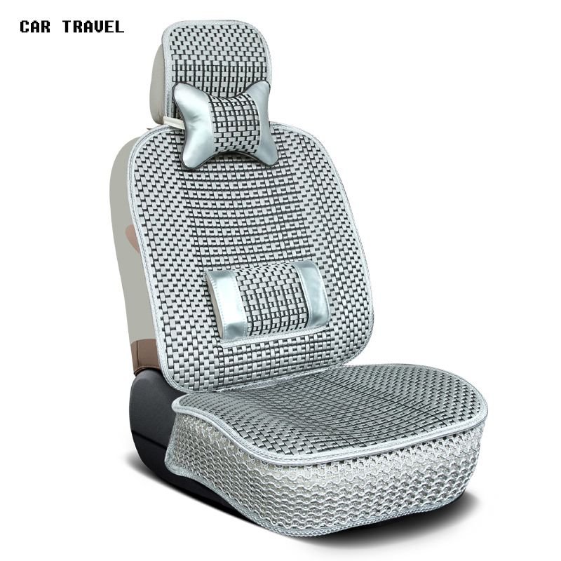 1pc Front Car Supplies Square Style Luxurious Warm Car Seat Cover Cushion Winter Universal Front Back Seat Covers Car Chair Pad