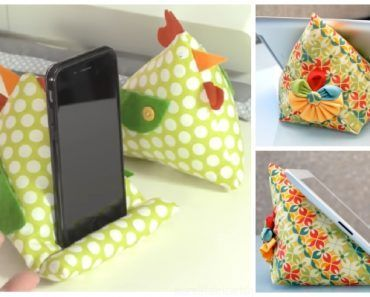 DIY iPad Stand Free Sewing Patterns + Video
