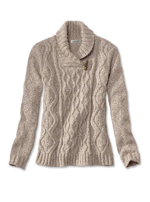 Women's Marled Shawl-Collar Sweater | Pullover sweater women, Shawl collar sweater  women, Sweaters