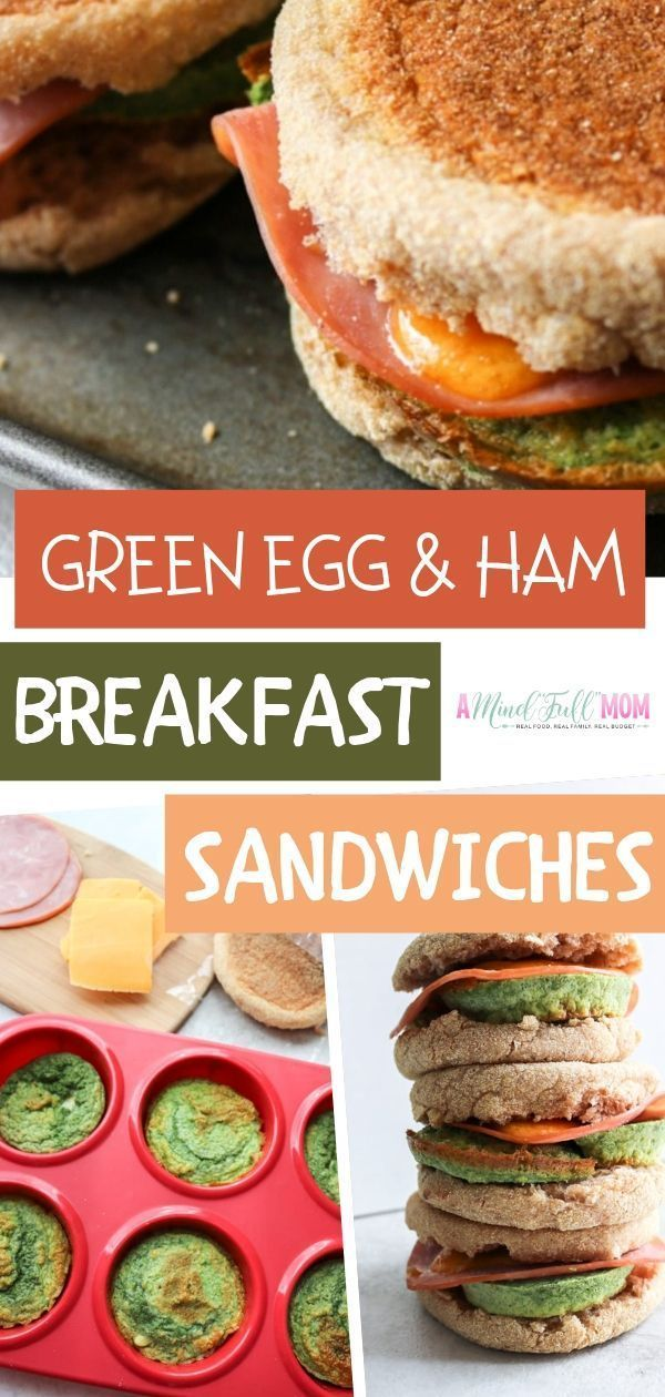 Healthy Homemade Egg McMuffin Sandwiches | A Mind Full Mom