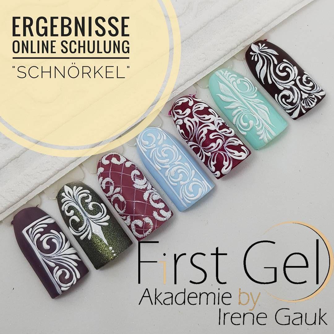 Ergebnisse aus unserer Online Schulung. #irenegauk #firstgel ...