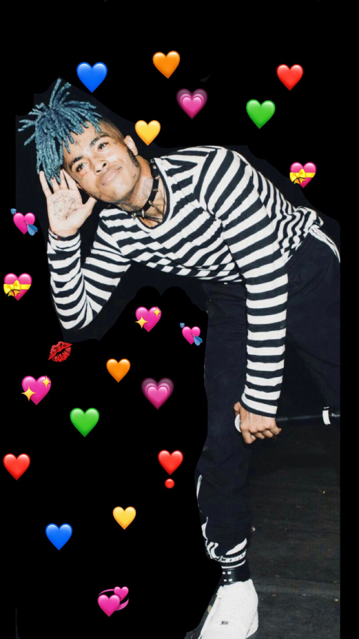 Forever in our hearts xxxtentacion photoedits sad
