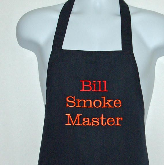 Mens Ladies Personalised BBQ Apron Any Song Name Birthday Gift Surname