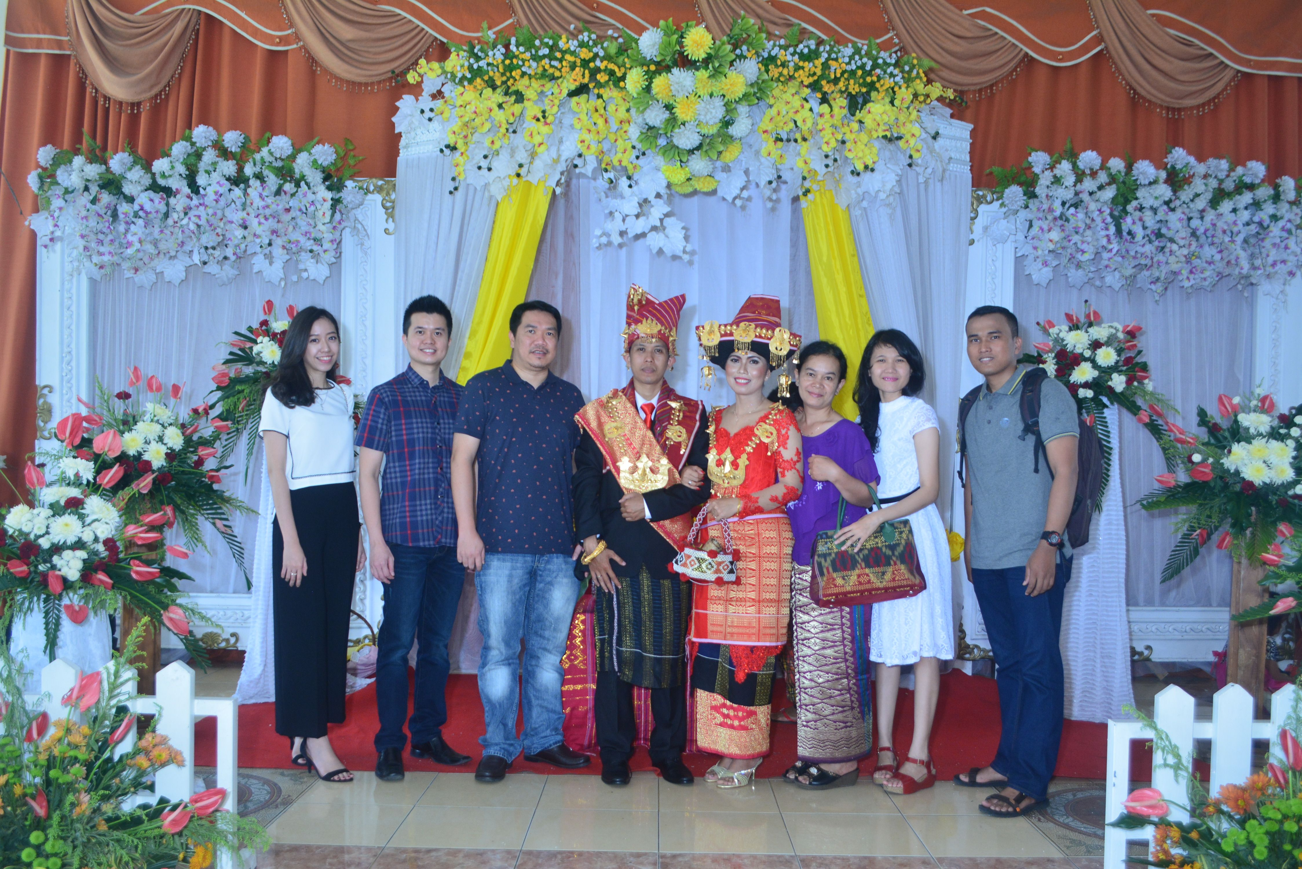 Karo wedding with cma cgm medan