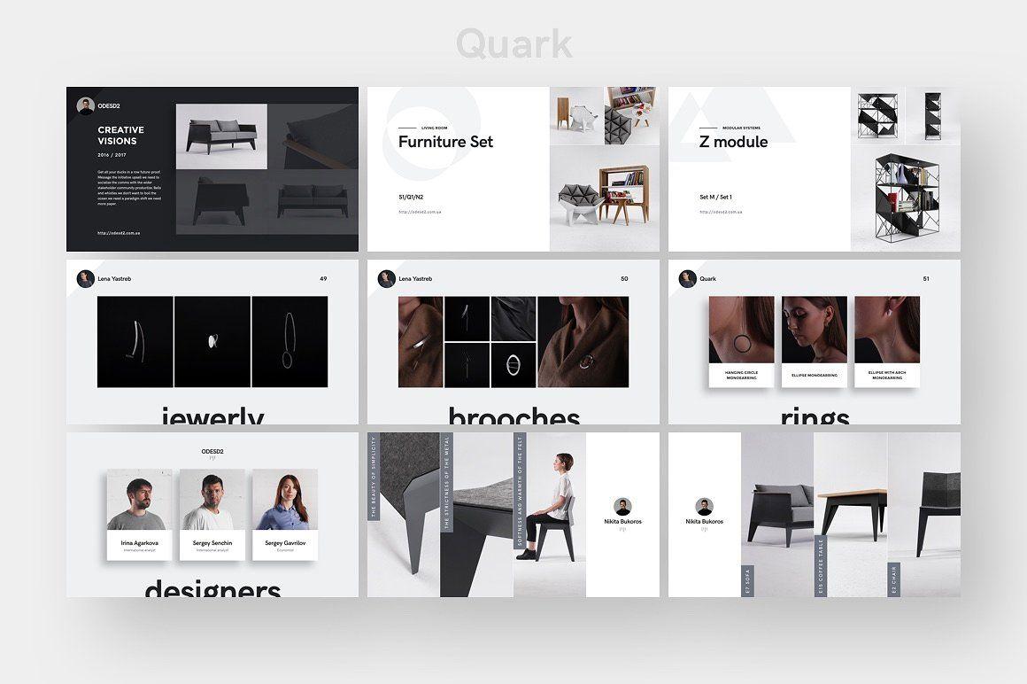 quark templates