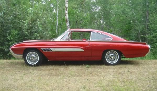 The Ford Thunderbird Italien