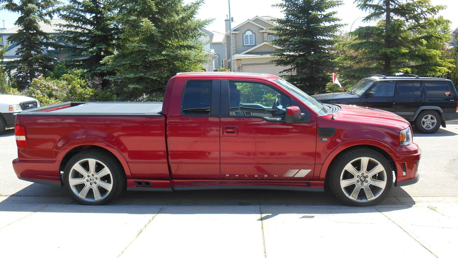 2007 Ford F150 Saleen S331 Supercharged Sport Truck