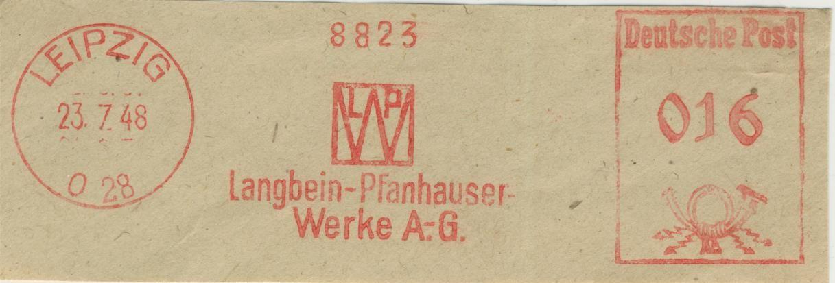 Leipzig LangbeinPfanhauser Werke A.G.