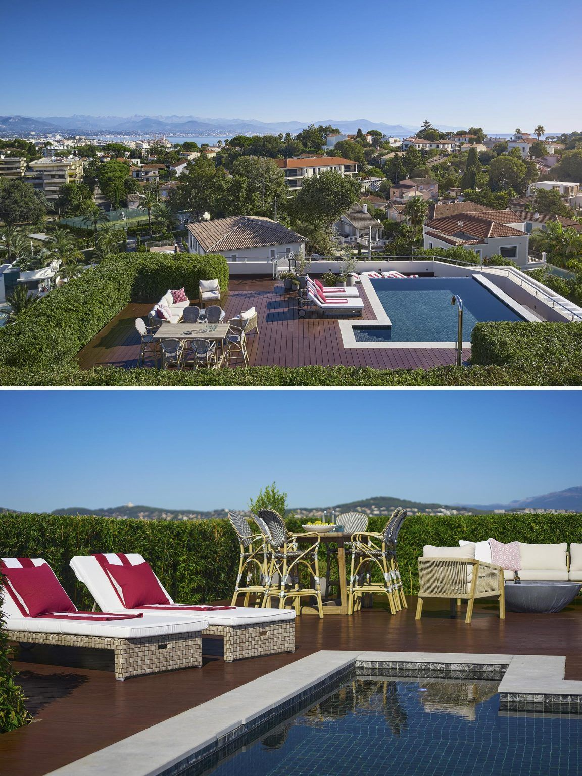 An Exceptional Rooftop Pool And Terrace Was Placed On Top Of This Apartment Rooftop Pool Apartment Rooftop Terrace