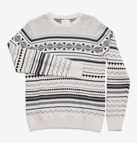 Shades of Grey Fair Isle Sweater | Men's Sweaters | Pinterest ...