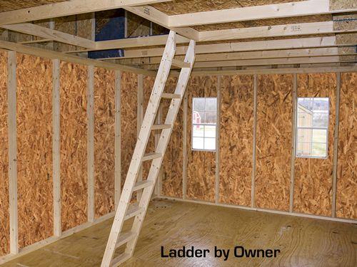 Best Barns Belmont 12x20 Wood Storage Shed / Cabin Kit