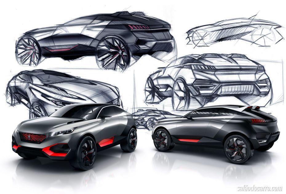Peugeot Suv Concept Google Search