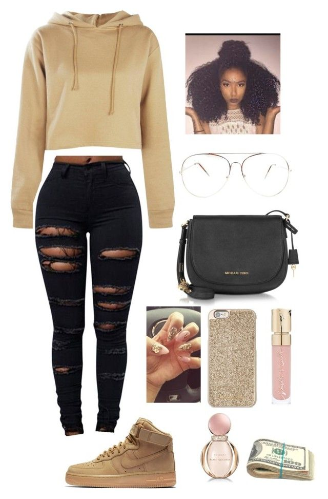 new concept 358e3 5ea74 Do yall like this by clout-queex-3 on Polyvore featuring ...