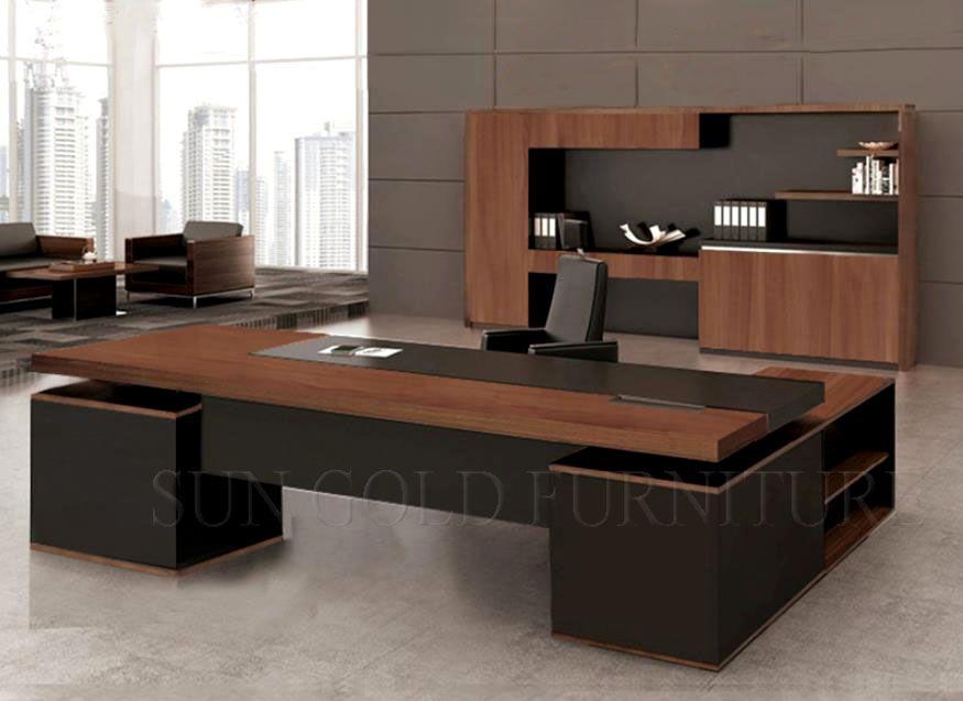 Billig büro schreibtisch modern penthouse bureau