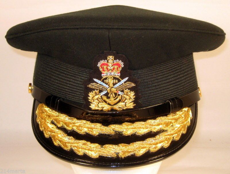 Canada Canadian Armed Forces Male Land General Officer Dress Hat Cap Rare b952b2a630b