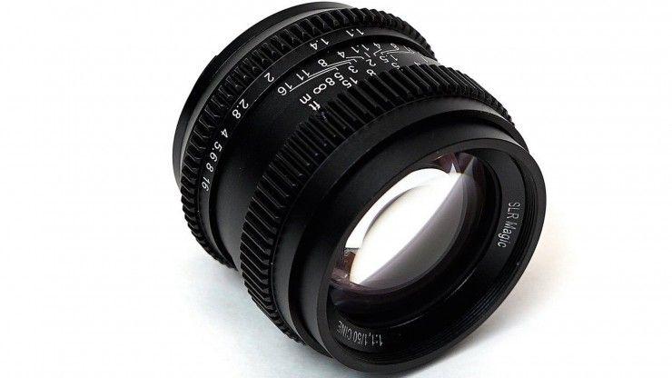 Slr Magic S New 50mm F 1 1 Is A Fast Cheap Cine Lens For Sony E Mount Sony E Mount Slr Lens