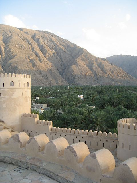 Village Below Oman Sultanate Of Oman Beautiful Places