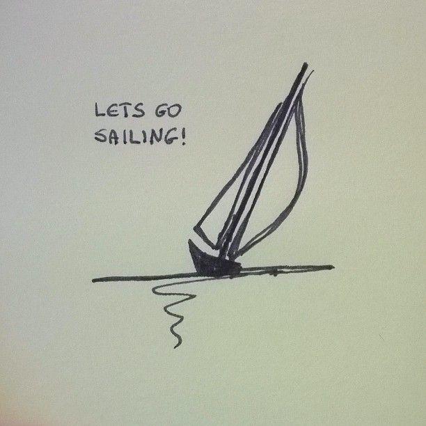 bateau  boat drawing sailboat drawing sailing art