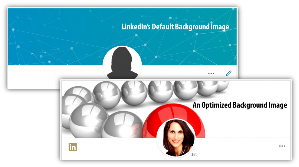 LinkedIn Profile Optimization For Dummies Background