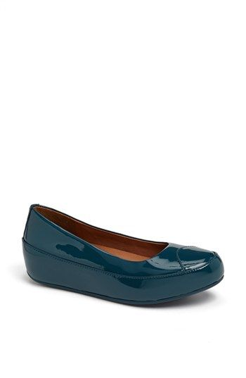 9e51f5b86013e8 FitFlop  Dué™  Patent Flat available at  Nordstrom Item  552415 ...