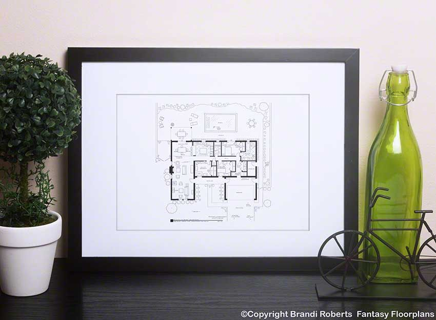 Breaking Bad Home Floor Plan How To Draw Hands Black White