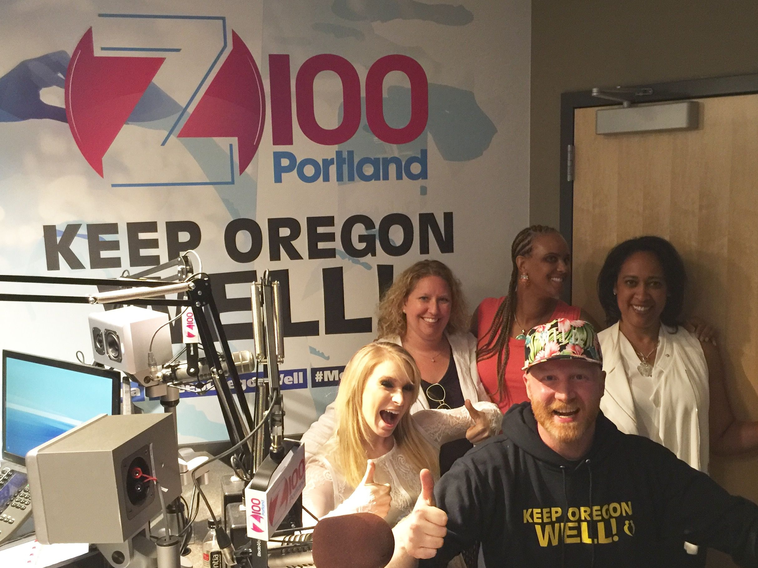 Thanks To K103 Portland Z100 Portland And Jam N 107 5 For Having