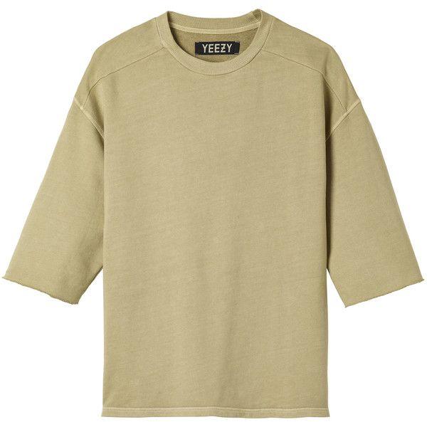 Yeezy Sweatshirt 471 Liked On Polyvore Featuring Tops Hoodies
