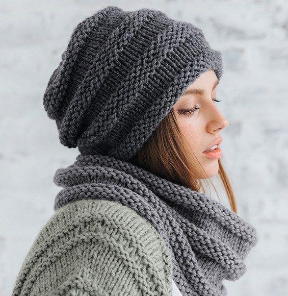 Modèle fantaisie gris Rapido pelote x 3 tricot